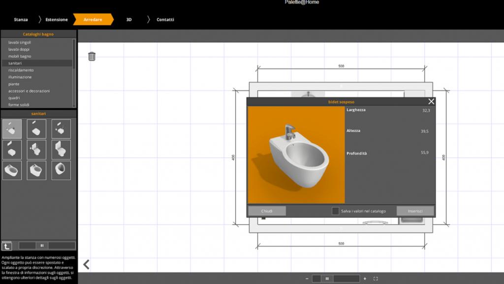 Progetto Bagno Virtuale