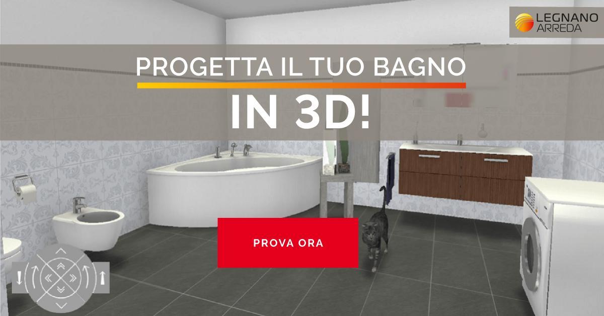 Pro Ta Il Tuo Bagno In 3D Line LegnanoArreda